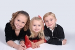Ashtyn (9), Ansley(3), and Camden(6)Fritz-- the three children of Melanie Klouse-Fritz