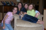 Talya, Faith, Kelsey, and Macy