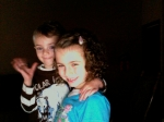 Jason Vowell's children Madison and Bryson