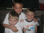 David, Daniel and Dylan Arnold (Wendi Hatmaker's boys)