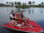 Michael Smith, taking my step-mom and oldest daughter jet skiing in Panama City, Florida