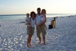 Our family in Destin 07.