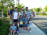 5K Life is Good race with my family and some friends. Only 2 of the 5 kids are mine!